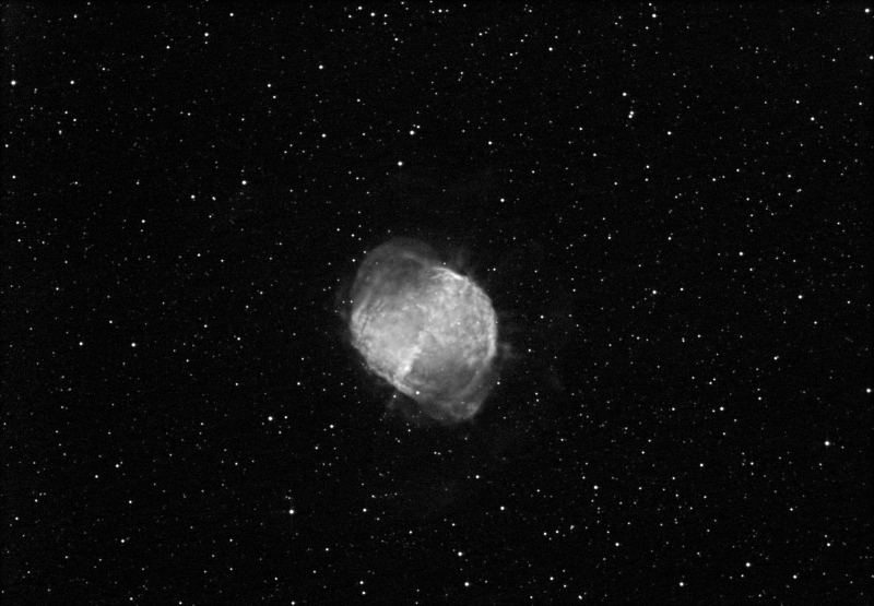 M 27 (Dumbbell Nebula) [Ha:60x60s]