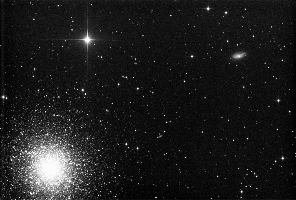 The Great Hercules Cluster (M 13) [C:40x30s]